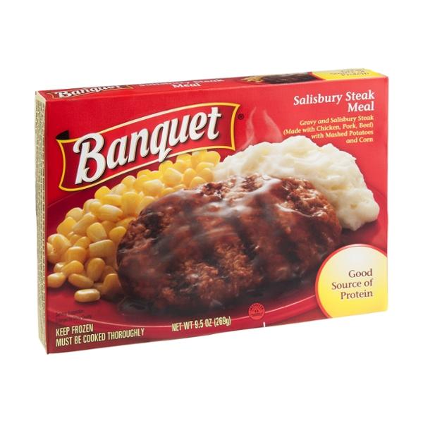 Banquet Meal Salisbury Steak