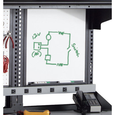 Mayline Group Techworks Accessories: Whiteboard