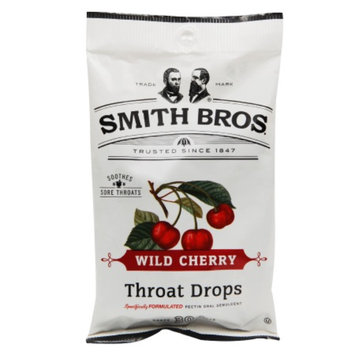 Smith Bros. Throat Drops, Cherry, 30 ea