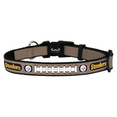 GameWear Pittsburgh Steelers Reflective Small Football Collar