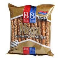 Beigel Beigel Beigel Pretzels, Sesame Mega Sticks, 5.3-Ounce Packages (Pack of 20)