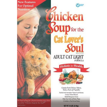 Chicken Soup For The Pet Lover's Soul Chicken Soup for the Cat Lover's Soul Dry Cat Food for Adult Cat, Light Chicken Flavor, 18 Pound Bag