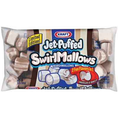 Jet Puffed Swirl Mallows, 10-Ounce Bags (Pack of 8)