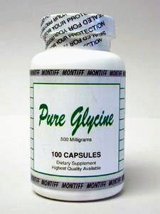 Pure Glycine 500 mg 100 caps by Montiff