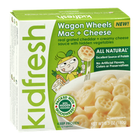 Kidfresh Wagon Wheels Mac + Cheese