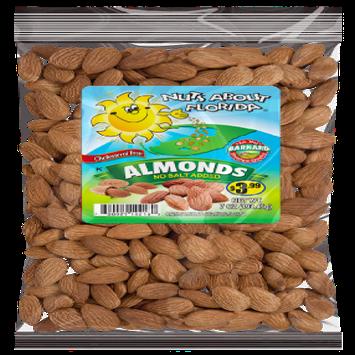 Barnard Almonds Roasted, No Salt, 7oz