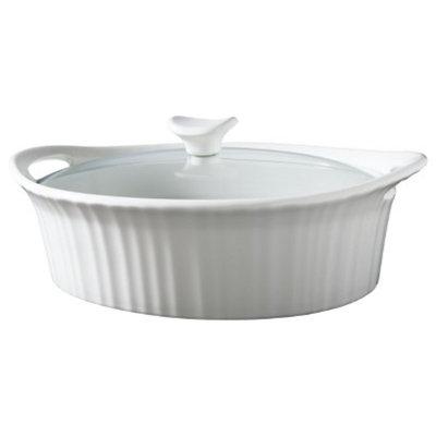 CorningWare 2.5 Quart Ceramic Casserole - White
