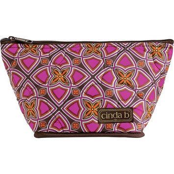 cinda b Medium Cosmetic II Stained Glass - cinda b Ladies Cosmetic Bags