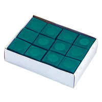 Blue Wave Products Inc. Hathaway Green Billiard Pool Cue Chalk - 12 pack