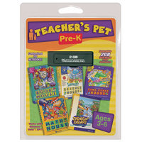 Pc Treasures PC Treasures Teacher's Pet: Pre K -2GB USB flash drive - PC