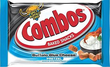 Combos 655 Buffalo Blue Cheese Pretzel Snacks Case Of 18
