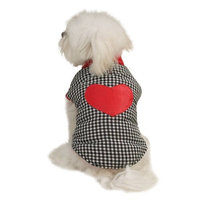 East Side Collection Polyester Puppy Love Reversible Vest, XX-Small, Red