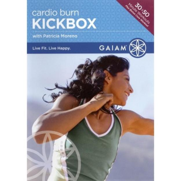 Gaiam Cardio Burn Kickbox DVD