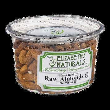 Elizabeth's Naturals Raw Almonds
