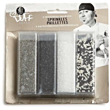 Duff Goldman by Gartner Studios Sprinkle/Sugar Set of 4, 6.7 Ounce (3 Pack)