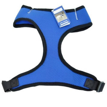 Petedge ZA888 24 19 Casual Canine Mesh Harness Xlg Blue