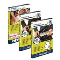 Virtuosso Electric Guitar Method Vol.1 (Curso De Guitarra Eléctrica Vol.1) SPANISH ONLY