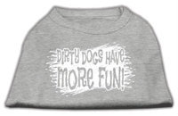 Ahi Dirty Dogs Screen Print Shirt Grey Sm (10)