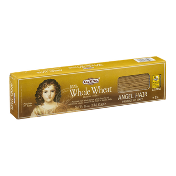 Gia Russa 100% Whole Wheat Angel Hair