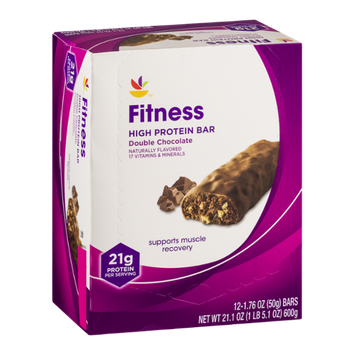 Ahold Fitness High Protein Bar Double Chocolate