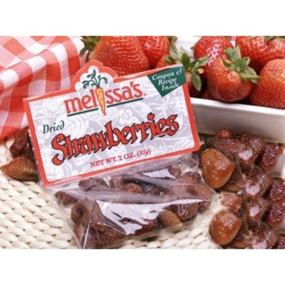 Melissa's Dried Strawberries, 3 packages (3 oz)