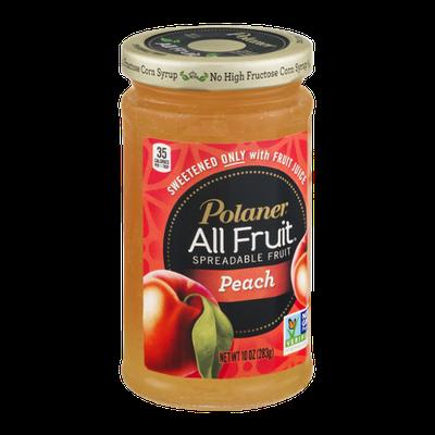 Polaner All Fruit Spreadable Fruit Peach