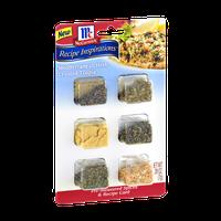 McCormick Recipe Inspirations Mediterranean Herb Crusted Tilapia Pre-Measured Spices & Recipe Card
