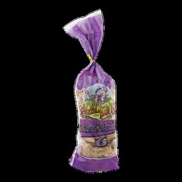 Bagel House Cinnamon-Raisin Bagels - 6 CT