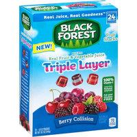 Black Forest Triple Layer Fruit Collision Fruit Snacks, 0.8 oz, 24 ct