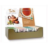 Davidson's Tea Davidson Organic Tea 2560 Tulsi Assorted Tea Box of 25 Tea Bags
