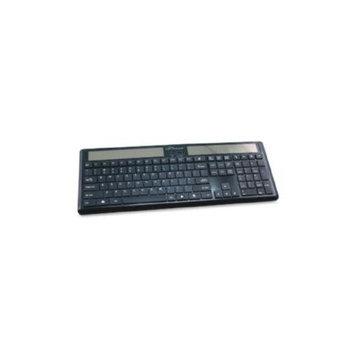 Compucessory Wireless Solar Keyboard, 16-1/8