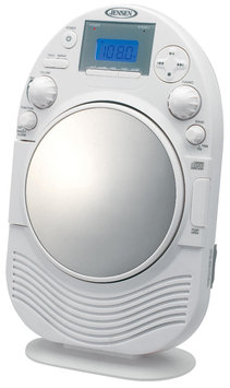 Jensen AM/FM Stereo Shower Radio & CD Player