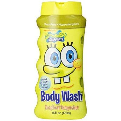 Spongebob Squarepants Nickelodeon Spongebob Body Wash, 16 Ounce