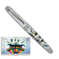Acme Studio Acme Beatles Magical Mystery Tour Limited Edition Rollerball Pen & Card Case Set