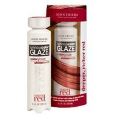 John Frieda® John Frieda Radiant Red Luminous Color Glaze, 6.5 oz Deeper, Richer Red