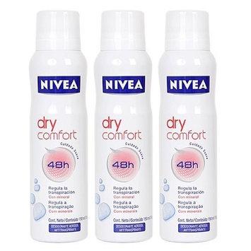 NIVEA Dry Comfort 48 Hr Antiperspirant Deodorant Spray for Men