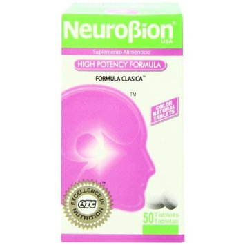 OTC Pharmaceutical Neurobion CLASSICO 50 Tablets Vitamin B Energy Booster