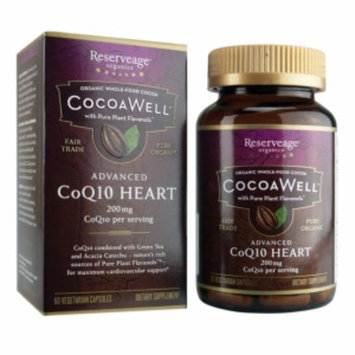 ReserveAge Organics CocoaWell Advanced CoQ10 Heart