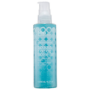 Bliss fabulous foaming face wash, 6.7 oz