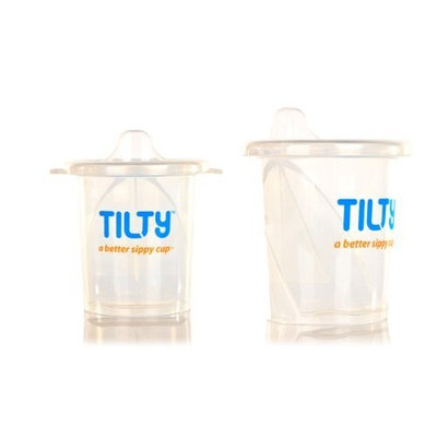 Tilty Sippy Cup, Clear, 7 Ounce, 2 Pack