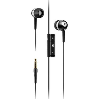 Sennheiser Universal In-Ear Headphones - Black/Silver (MM70s)