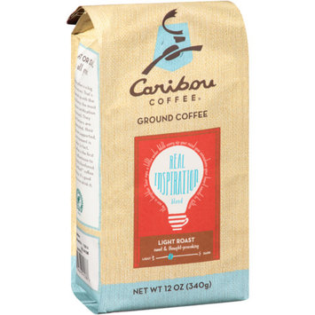 Caribou Coffee Real Inspirations Blend Light Roast Ground Coffee 12 oz
