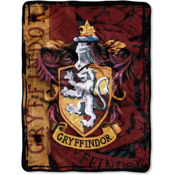 Northwest Company Harry Potter Battle Flag Micro Raschel Throw