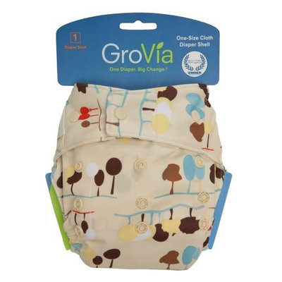 GroVia Snap Diaper Shell System, Nature (Discontinued by Manufacturer)