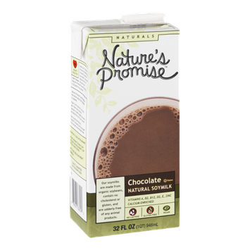 Nature's Promise Naturals Chocolate Natural Soymilk