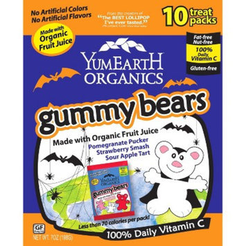 YummyFun Yummy Earth Organic Gummy Bears 6 oz