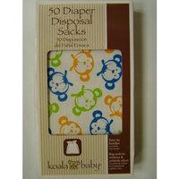 Unknown Koala Baby Monkey 50 Diaper Disposable Sacks
