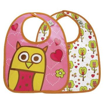 SugarBooger 2pk Bib Gift Set - Hoot