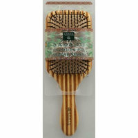 Earth Therapeutics Large Bamboo Lacquer Pin Paddle Brush 1 Brush