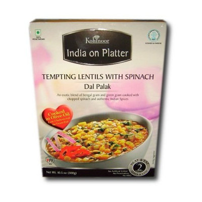 Kohinoor - India on Platter - Dal Palak (Tempting Lentils with Spinach) Ready-To-Eat